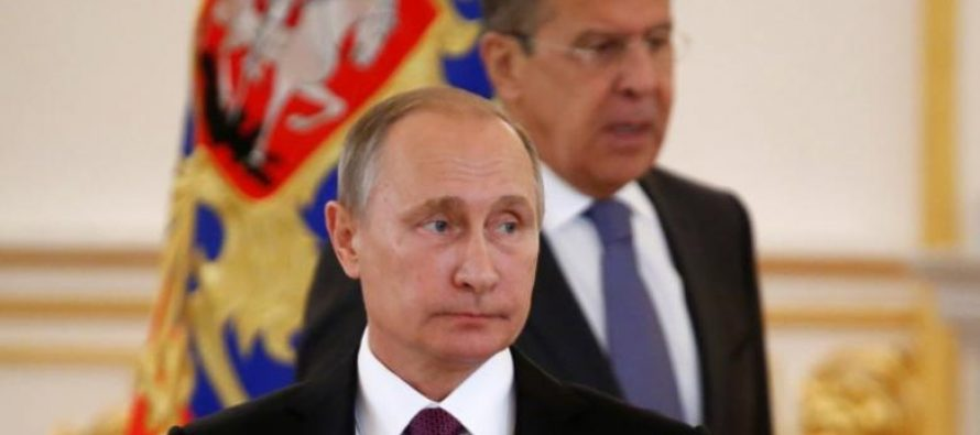 Putin says will not expel anyone in response to U.S. sanctions