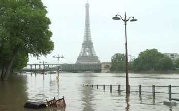 Paris floods: Seine level starts dropping after 30-year high