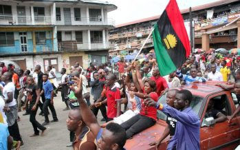 'Confusion' hits pro-Biafra agitators