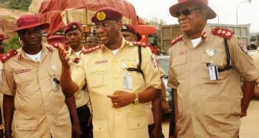 We are not allowed to carry weapons yet- FRSC