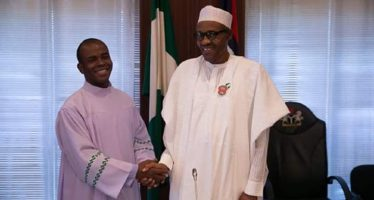 Buhari congratulates Rev. Fr. Mbaka on 21st anniversary of ordination (Picture)