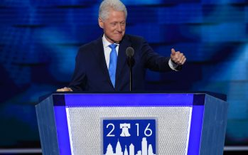 Bill Clinton Recalls the Moment He Fell in Love With Hillary Clinton During DNC Speech