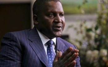 Dangote Cement lifts NSE indices by 1.25%
