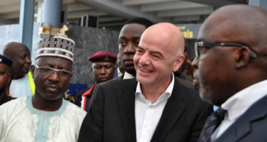 Infantino hails NFF, says Russia is 99% set for World Cup