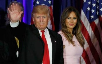 Trump's Wife, Melania Accused Of Plagiarizing Michelle Obama
