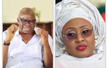 Aisha Buhari did not travel to US- Ekiti PDP