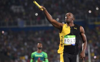 Bolt seals 'triple triple' with Jamaica relay gold