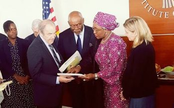 Aisha Buhari speaks on U.S. visit, Governor Fayose's attacks
