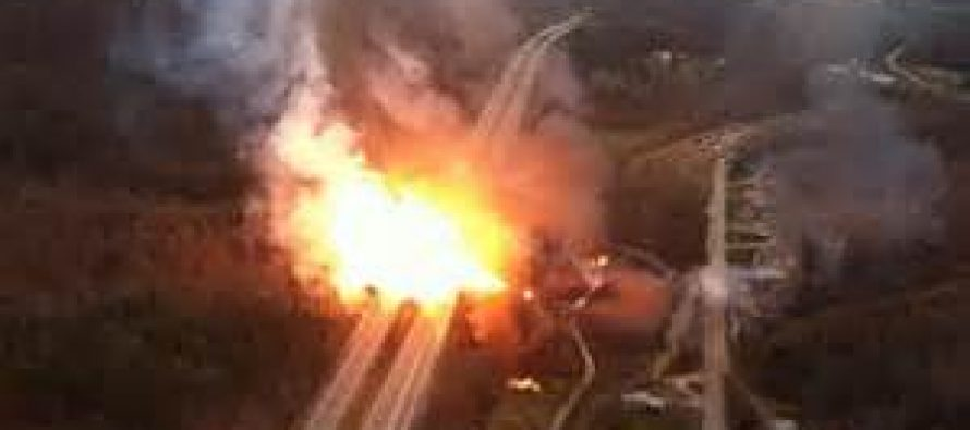 Three dead in Ghana as gas truck fire causes explosions