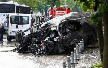 Six killed in car bombing of Turkish police vehicle – security sources