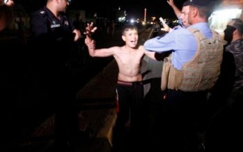 Iraqi police remove suicide belt from 11-year-old