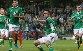 Keane scores in winning Ireland farewell