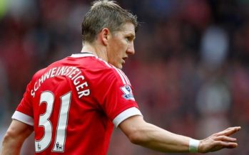 Manchester United omit Bastian Schweinsteiger from Uefa Europa League squad