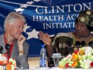 Did the Clinton Initiative distribute 'watered-down' AIDS drugs to Africa?