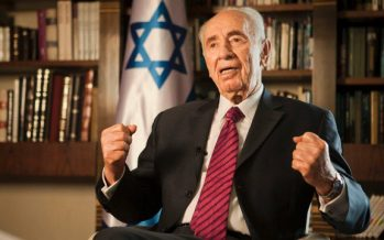 Former Israeli PM and president Shimon Peres dies aged 93 following a stroke two weeks ago