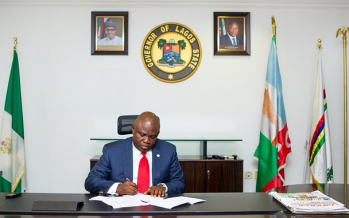 Ambode reshuffles cabinet, sacks three commissioners