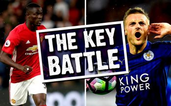 Eric Bailly v Jamie Vardy: Who will win the key battle when Manchester United host Leicester?