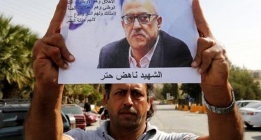 Jordanian writer shot dead outside court before trial over cartoon