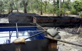 Army destroys illegal crude oil refineries, kidnappers camp