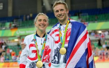 Olympics golden couple Jason Kenny and Laura Trott marry in private