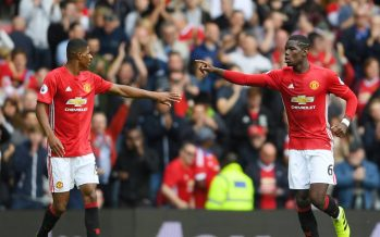 Paul Pogba stars as Manchester united thrash Leicester