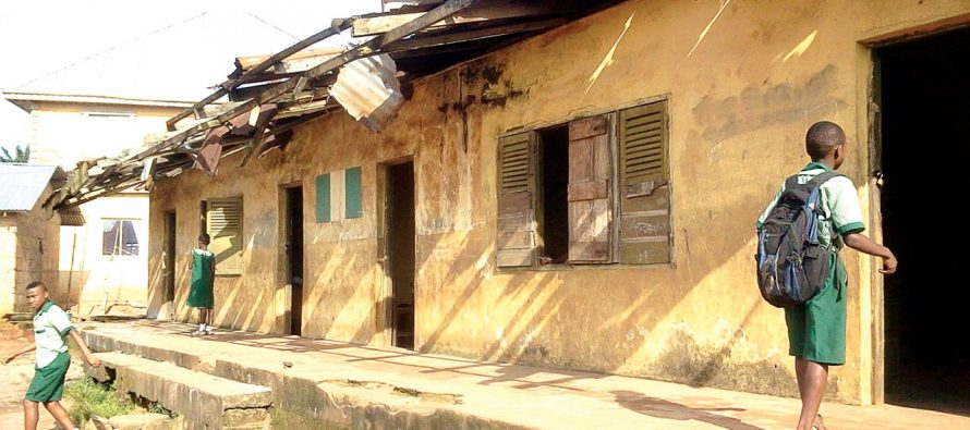 Image result for images of dilapidated schools in benue