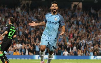 Manchester City striker Sergio Aguero deserves awards, says team- mate John Stones