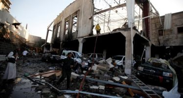 Officials: Saudi-led airstrikes hit Yemen funeral home; 155 dead
