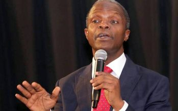 Why we've not arrested Jonathan — Osinbajo