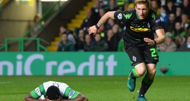 Celtic 0-2 Borussia Monchengladbach: Hosts' qualification chances dealt huge blow