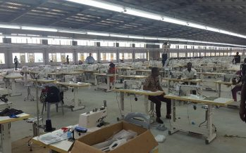 Ayade appeals to army boss to patronise Calabar garment factory