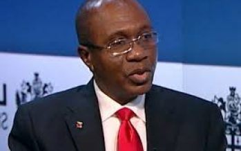I cannot be intimidated – Godwin Emefiele