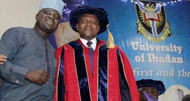 Aliko Dangote honored with a doctorate degree by the University of Ibadan