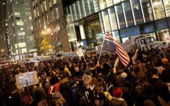 Protests rock U.S. streets over Trump victory