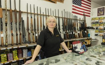 Gun sales on the rise in anticipation of a Clinton win