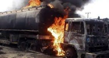 Owerri tanker fire consumes pregnant woman, 2 kids, others