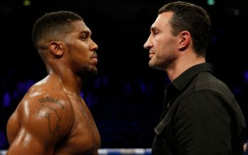 Joshua in 'difficult position' afer late change of opponent