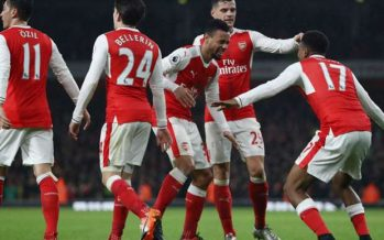 Arsenal 3-1 Stoke City: Gunners cruise to victory
