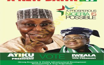 2019 polls: PDP to present Atiku/Okonjo Iweala, as el-Rufai courts Orji Kalu as VP