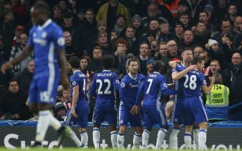 Chelsea Match Arsenal Record; Musa Benched, Anichebe Injured, Pogba Rescues United