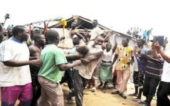 Many trapped as Lagos police college building collapses