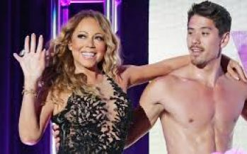 Mariah Carey and young beau Bryan Tanaka attend her reality show viewing party together
