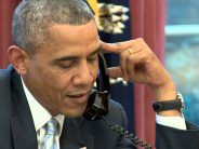 Obama makes farewell calls to world leaders