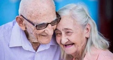 Adorable Brazilian couple trend as they celebrate 65th wedding anniversary