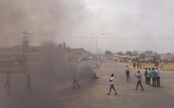Osun varsity students protest police shooting