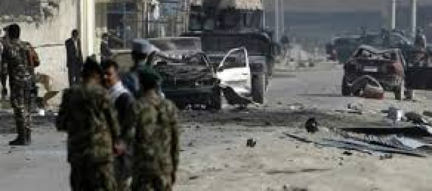 Around 50 dead in bombings across three Afghan cities