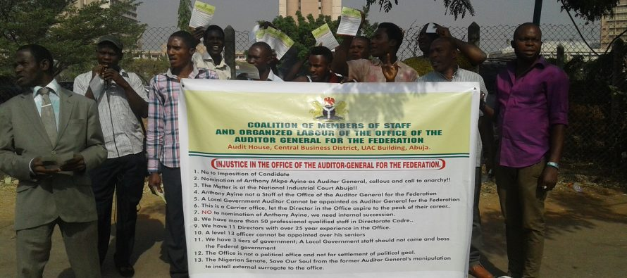 Civil society group protest 'nomination' of new AGF