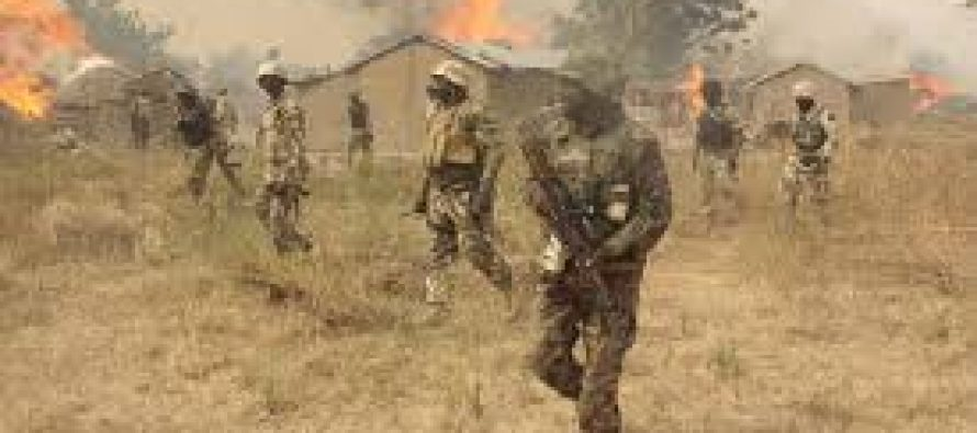 Army kills 13 Boko Haram suspects in clearance operations