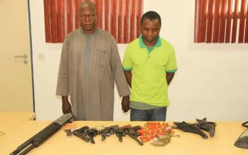Kidnappers of ambassador Bagudu Hirse paraded by police