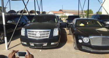 """""""Photos of luxury vehicles acquired by Jammeh in his final days"""""""